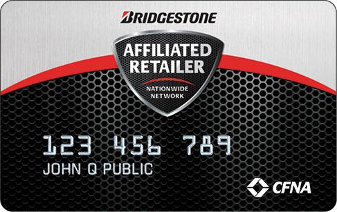 Konto Reifen und Kreditkarte