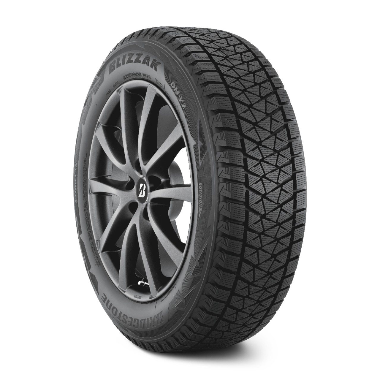 V2: Bridgestone Winter Tires For Snow & Ice