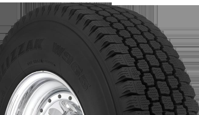 blizzak w965 winter truck tire bridgestone tires. Black Bedroom Furniture Sets. Home Design Ideas