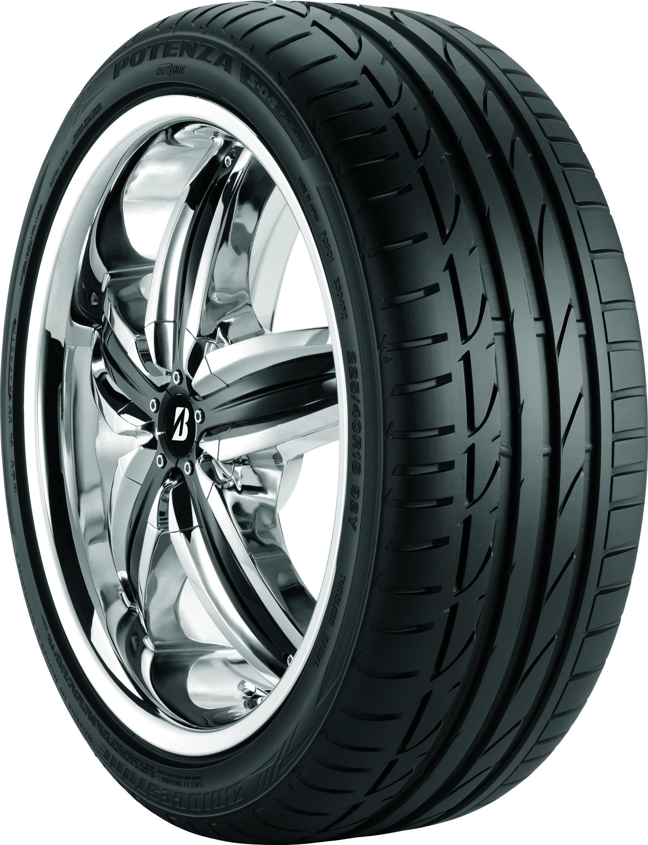 Potenza S04 Pole Position Tire